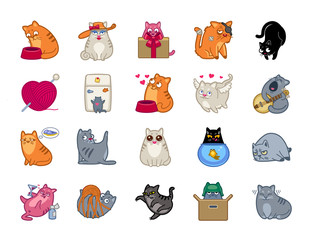 Cat Power Icon Set