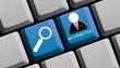 Mitarbeiter suchen und finden online
