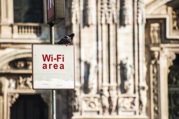 Wi-fi a Milano