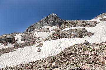 Caucasus mountains in summer, Fisht mnt region