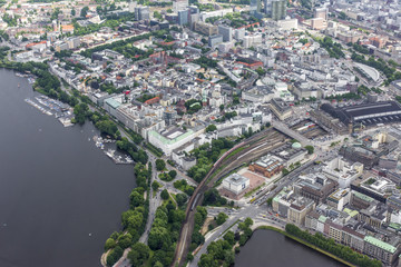Hamburg - Germany from above