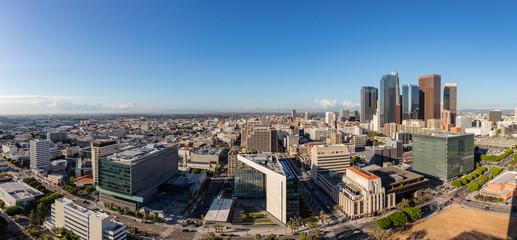 Panorama skyline of Los Angeles