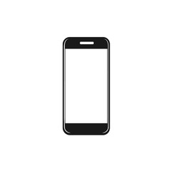 icon of cellphone. vector illustration