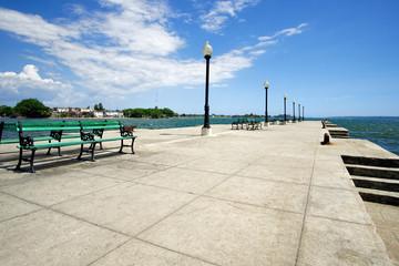 Cienfuegos Pier an der Jagua Bucht, Kuba