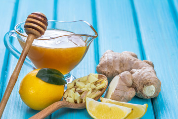 honey lemon and ginger