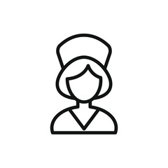 nurse icon illustration