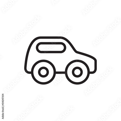 Toy Car Icon Illustration Stock Image And Royalty Free Vector Files