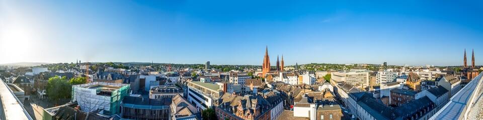 Ausblick über die Stadt Wiesbaden