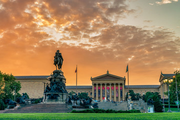 Museum of Art in Philadelphia, USA