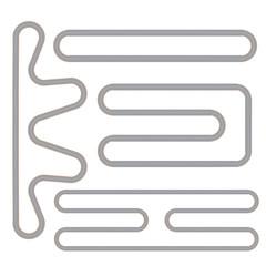Simple Race Track Shape Set
