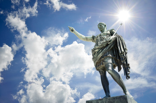 Augusto (Gaius Iulius Cæsar Octavianus Augustus), Rome
