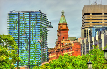 Buildings on Railway Square in Sydney, Australia