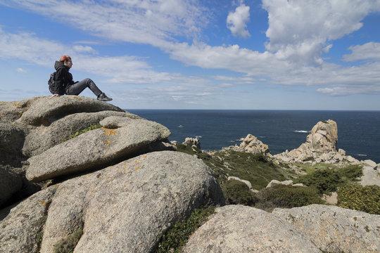 Cabo Testa Ausblick
