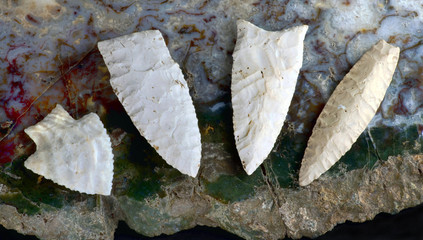 Real American Arrowheads.