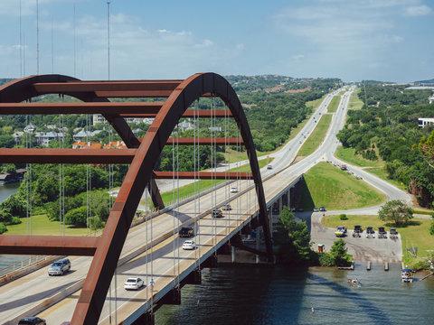 Pennybacker Bridge in Austin