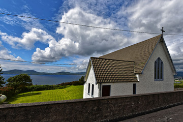 Irland - Loher Church Waterville County Kerry