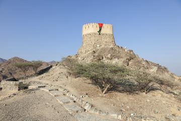 Al Badiyah Lookout tower in Fujairah, UAE