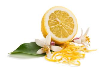 Lemon, blossom and zest.