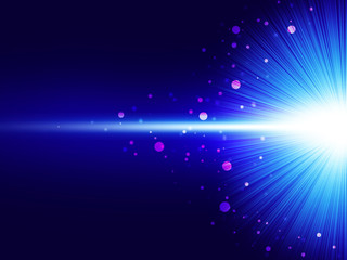 Foto op Plexiglas Licht, schaduw 閃光 放射光
