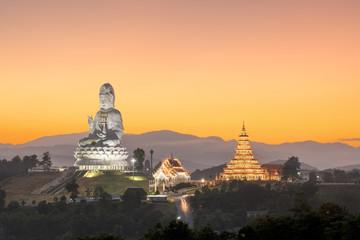 Guanyin :  Wat Huay Plakang 9 Tier Temple