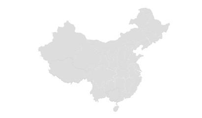 China Map Wall mural