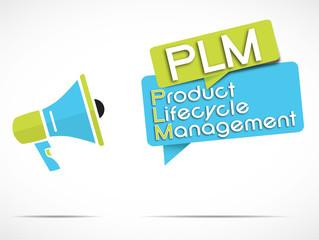 megaphone : PLM