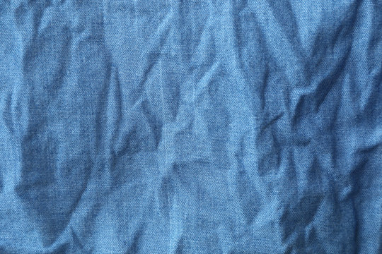 wrinkled cloth for pattern and background
