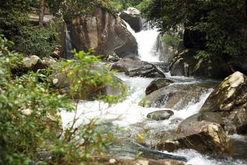 Khao Cha Mao Waterfall in Rayong Thailand