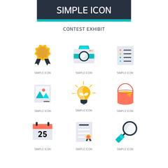 Education Simple Icon Set