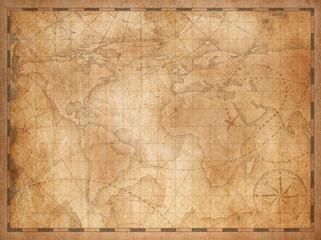 Vintage nautical map background
