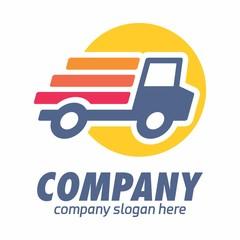 Truck logo icon vector template