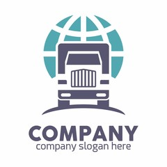 Truck logo icon vector template