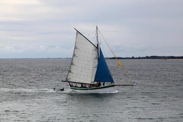 Sport nautique et plaisance à Port-Navalo.