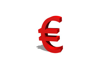 Eurosymbol in 3D