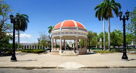 Pavillon im Parque José Marti, Cienfuegos, Kuba