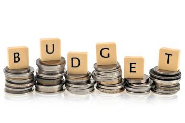 Obraz Concept de budget - fototapety do salonu