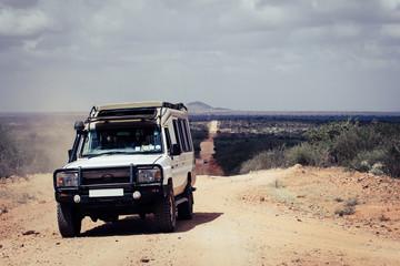 January 2017 - Kenya - AFRICA - Tsavo National Park- Jeep safari