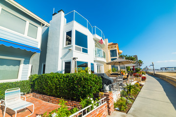 House by the sea in Newport Beach