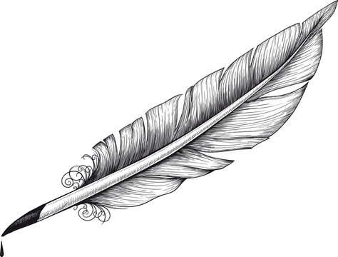 Vintage quill