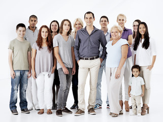 Mixed Age Multi-Ethnic Group