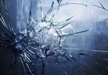 Window broken glass