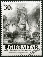 GIBRALTAR - 2001: The Battle of Trafalgar 21 October 1805