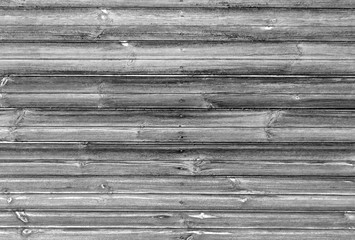 black and white wooden wall texture.