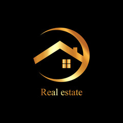 real estate gold logo