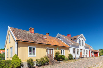 Old Swedish houses in Pataholm