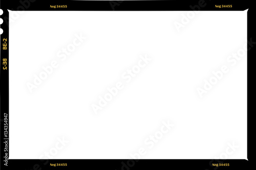 large format film sheet negative, 6 x 9 centimeters, photo frame ...
