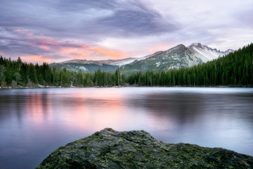 Bear Lake Sunset at Rocky Mountain National Park