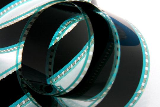 Film Strip on white background