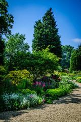 Flower garden portrait