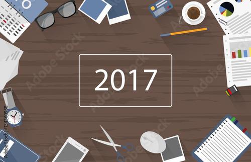 Schreibtisch von oben 2017 im genes de archivo y for Schreibtisch von oben